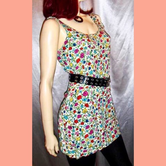 Betsey Johnson Dresses & Skirts - 💋RARE VTG 80s BETSEY JOHNSON Floral Mini Dress